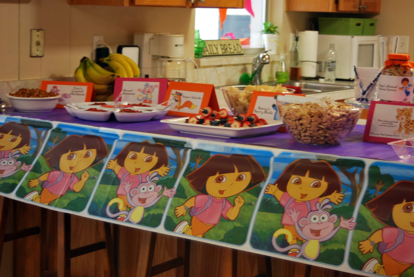 Exploring The World With Dora Party Supplies Go7 Blog
