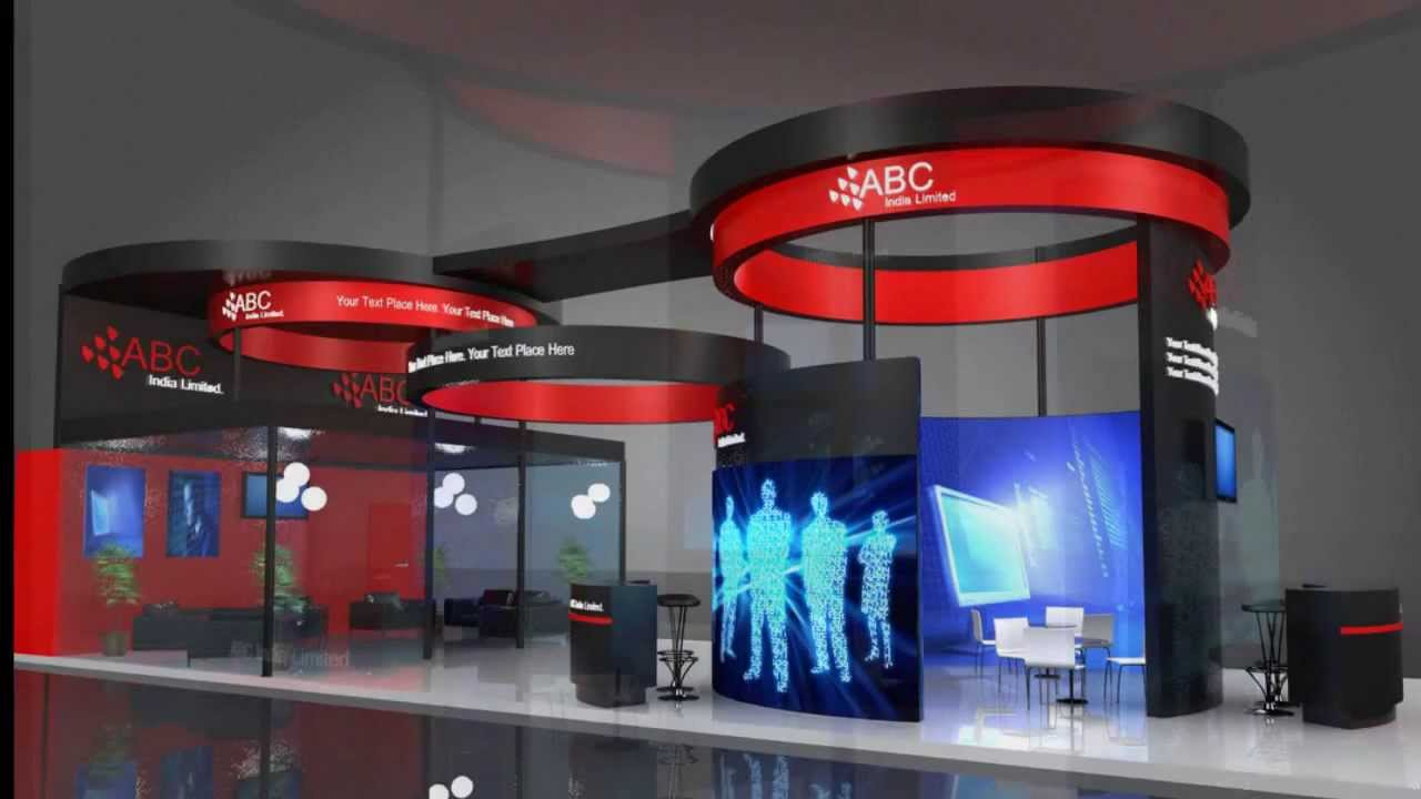 Modern Exhibition Stand Out : Stand out at your next business convention go